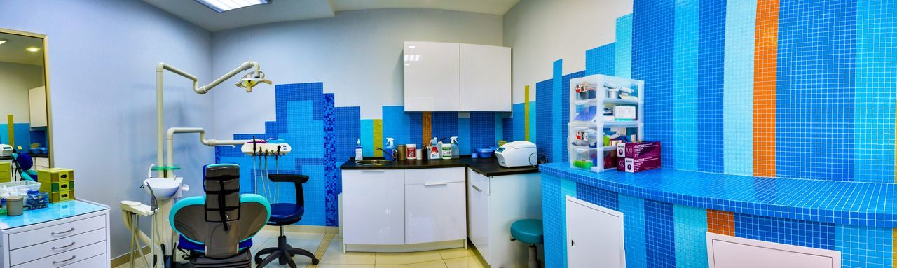 Dantist Dental Room Dental Health Dental Care EyeEm Selects Blue Indoors  No People Technology Industry Architecture Machinery Business Panoramic