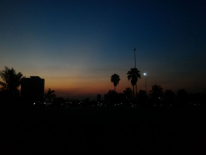Sky Night Blue Sky Bluesky Blue Color Sun Palmas-TO-Brasil First Eyeem Photo