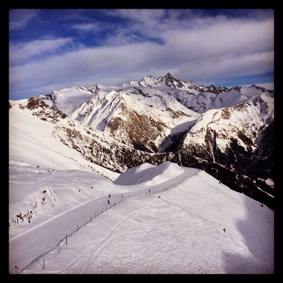 High Nature skiing Austria Nature_collection Skiing Mountains