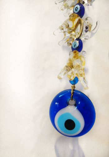 Evil eye protection Luck Lucky Charm Turkish Charm Evil Eye Evileye Nazar Blue Accessory Decoration Home Blue Close-up