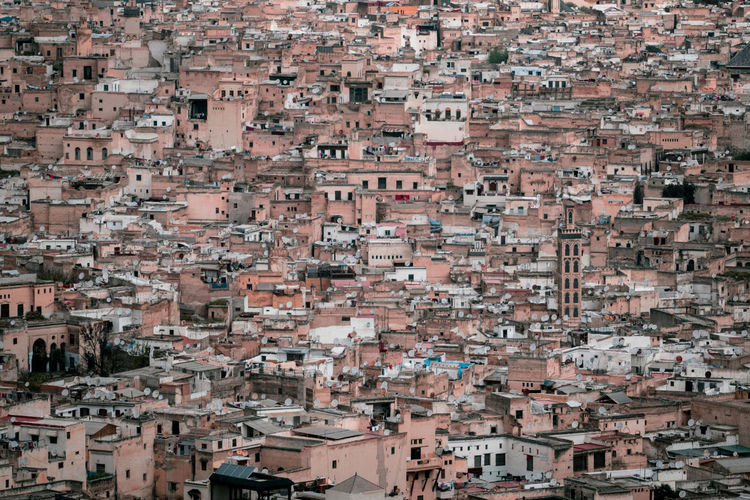 Stacked EyeEm Best Shots EyeEmNewHere Fes Medina Morocco Travel Africa Architecture Building Exterior City Cityscape Crowded High Angle View Landscape No People Residential District Travel Destinations The Traveler - 2018 EyeEm Awards The Architect - 2018 EyeEm Awards
