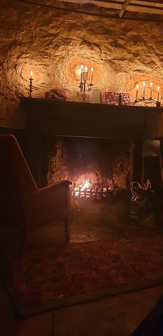 ILLUMINATED LIGHTING EQUIPMENT AT HOME