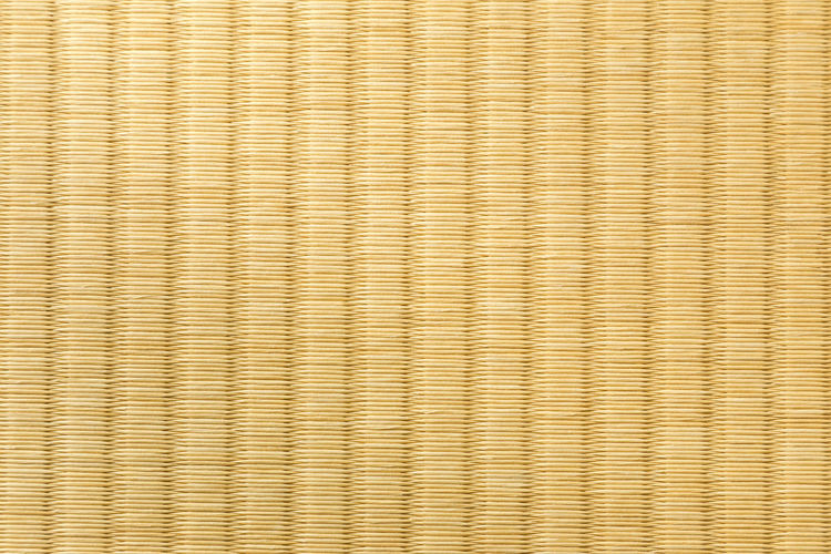 Close up of Tatami, Japanese straw mat Asian  Floor Mat Flooring Tatami Close Up Japanese Mat Strawberry Traditional