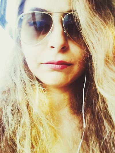 Bus Sun Sunglasses Boring Saturday Hanging Out