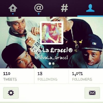 Follow me on twitter , ill follow back & give yuh a S/o . . . .