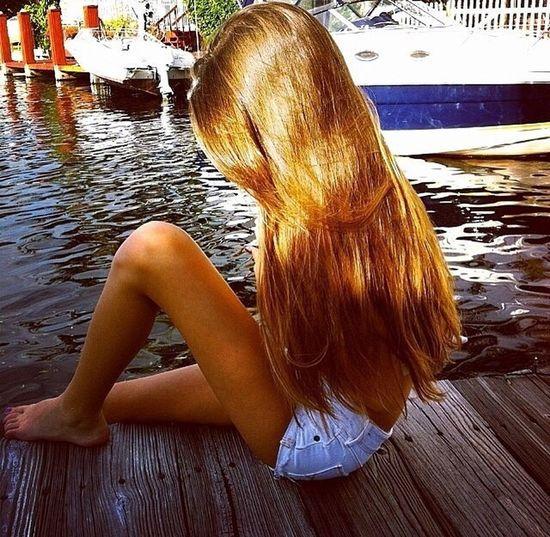 Fashion&love&beauty Long Hair Holiday♡ Enjoying The Sun