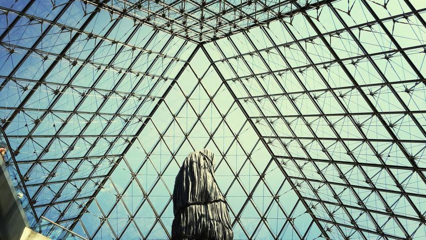 Louvre Pyramide Du Louvre Photography Photo