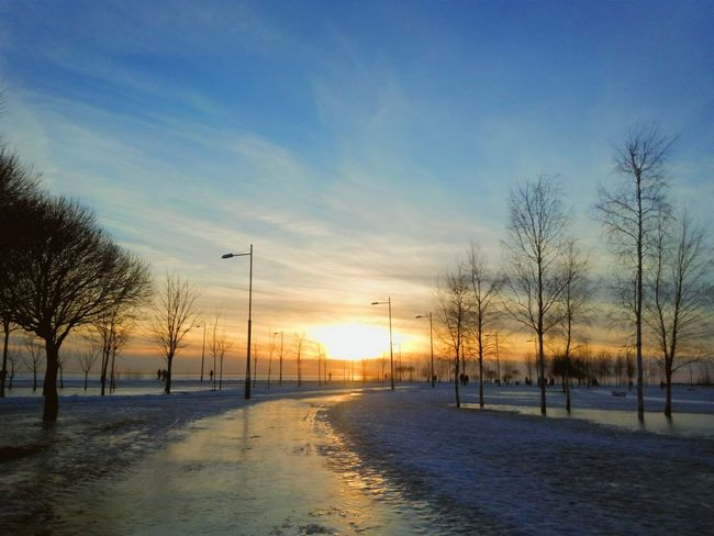 Sunset Saint-p Landscape