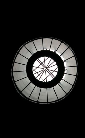 Low Angle View Silhouette No People Window Circles Pattern Circles And Lines Circles In Circles
