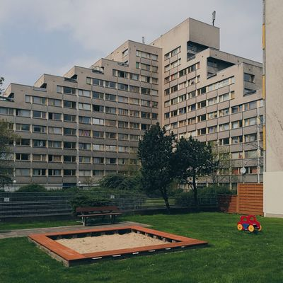 City House Building Exterior Apartment Urban Urban Skyline Berlin, Germany  Architecture Cityscape City Berlin Wohnraum Spielplatz GrowthSocial Issues Architecture No People Outdoors Day Skyscraper Sky The Secret Spaces