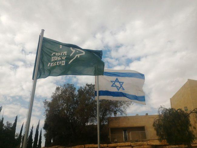 The Tourist Israel Flag