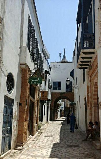 Rue Sidi BenArous. Tunis - Tunisie