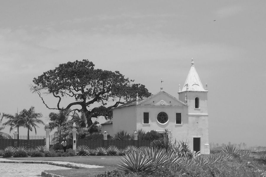 Igrejadapenha Ilha De Itaparica Brasil ♥ Brazil Bahia/brazil Bahia Blackandwhite Photography Blackandwhite Black And White