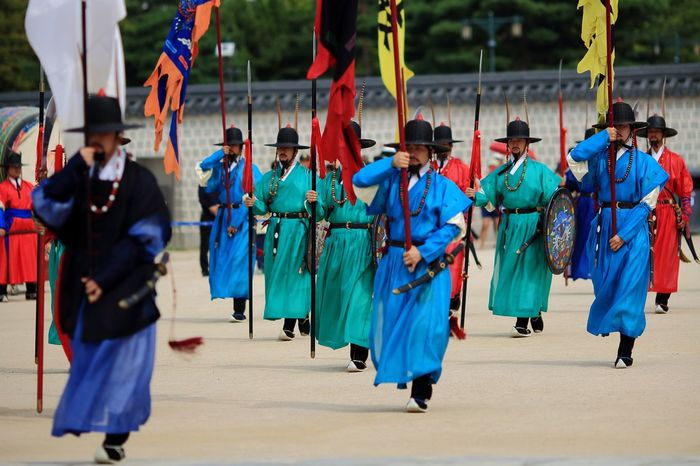 Leisure Activity Men Traditional Clothing Outdoors Parade Large Group Of People Day Military Uniform People Adult
