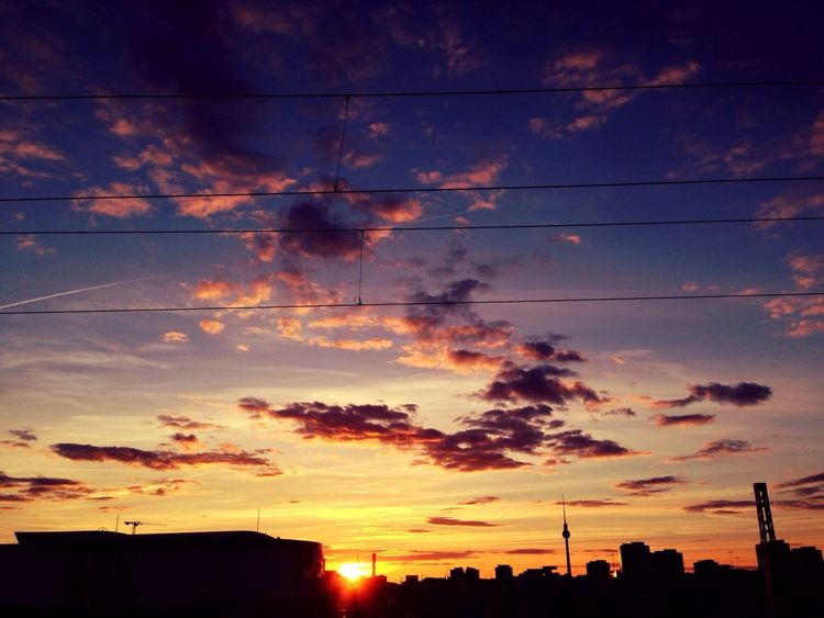 Sunset EyeEm Best Shots Sky Collection Discover Your City My Best Photo 2014 How's The Weather Today?