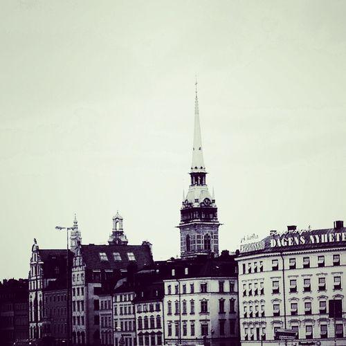 Stockholm City Scape