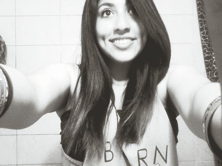 Hi! Girl Smiler Selfies