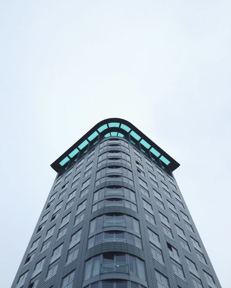 Architecture Building Exterior Built Structure City Clear Sky Copy Space Day London London Architecture Looking Up Low Angle View Minimal Minimalism Modern Modern Architecture Modern Building No People Outdoors Sky Skyscraper The Architect - 2017 EyeEm Awards
