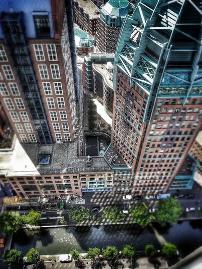 View from above the building where i work Taking Photos Working