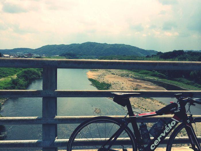 Enjoying Life Cycling River