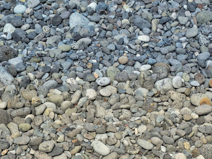 Rocks/Stones on beach. Stone - Object Rock Solid Stone Pebble Full Frame Backgrounds Abundance Large Group Of Objects No People Day High Angle View Nature Textured  Rock - Object Land Beach Outdoors Directly Above Pattern Rocks