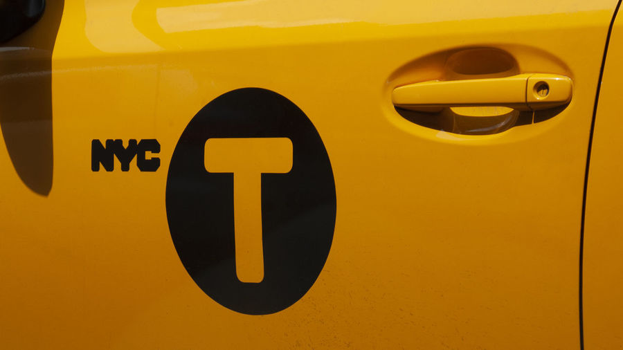 NYC NYC CAB Taxi Car Close-up Day Full Frame Land Vehicle Mode Of Transportation Motor Vehicle No People Outdoors Sign Transportation Yellow