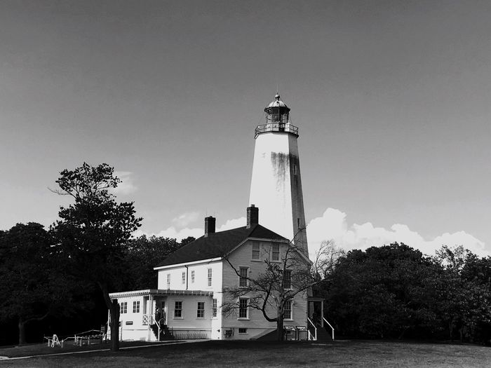Sandyhook,New Jersey Lighthouse Hancock Bnw_planet Blackandwhite Photography Shore Lonelyplanet Bnw_captures Mother Nature Sandyhook Porthancock, New Jersey