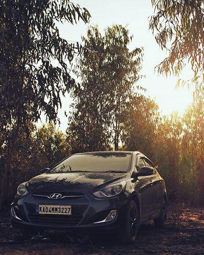 New Thinking New Possibilities. Hyundai Verna Sunset Asimphotography