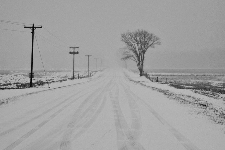 Road To Nowhere Black And White Collection  Wisconsin Winter EyeEm Best Shots Follow #f4f #followme #TagsForLikes #TFLers #followforfollow #follow4follow #teamfollowback #followher #followbackteam #followh Winter_collection Winterscapes Wisconsin EyeEm Best Shots - Black + White Roadandscenery Eye4photography  Roadsidephotography Ro