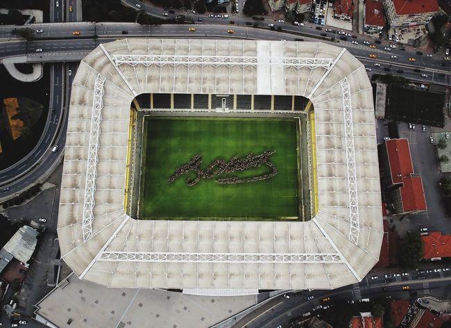 Istanbul Stadium Football Atatürk Signature Living Legend
