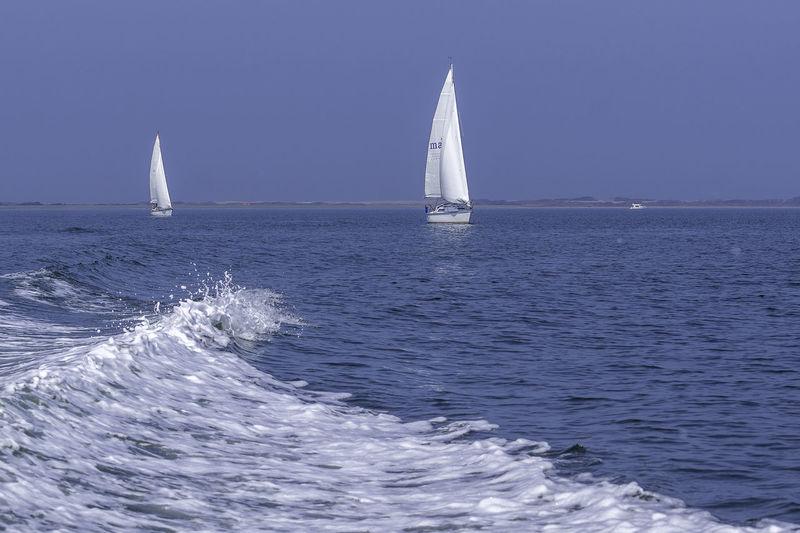 sailing home...