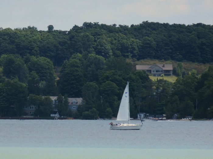 Sailing Suttons Bay