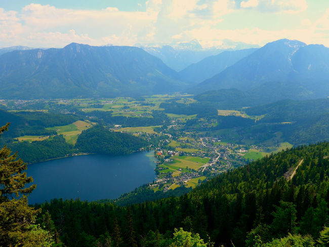 Altaussee Austria ❤ Steiermark,Austria Beauty In Nature Day Forest Green Color Idyllic Lake Landscape Mountain Mountain Range Nature No People Outdoors Range Rural Scene Scenics Sky Tranquil Scene Tranquility Tree Water