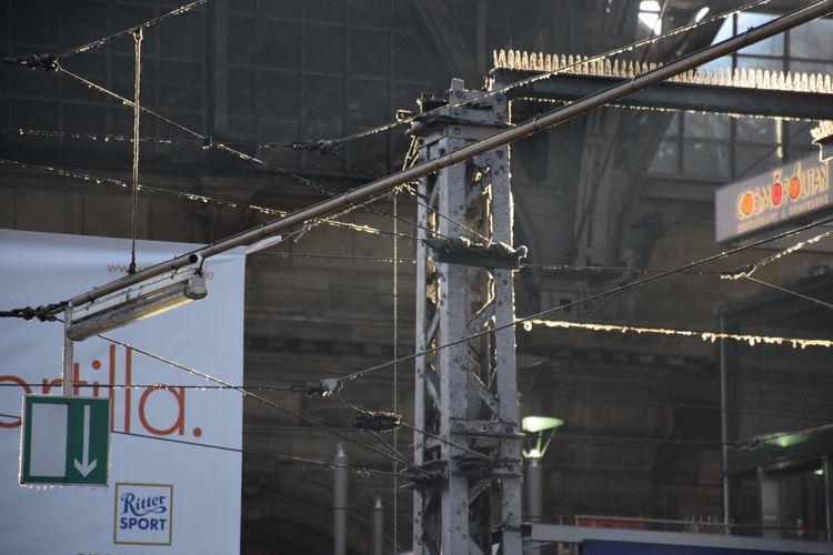 Low Angle View Of Berlin Hauptbahnhof