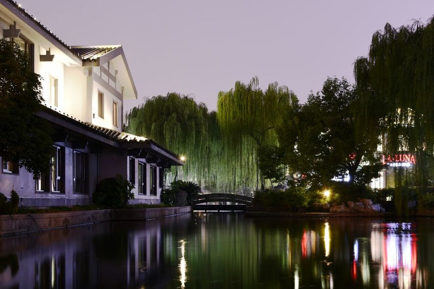 china beauty Jiangnan China Style EyeEm Best Shots EyeEm Nature Lover EyeEm Gallery Eyeem4photography Beauty In Nature Architectural Column Architecture Water Tree City Reflection Sky Architecture Building Exterior Built Structure Reflecting Pool Villa Holiday Villa Penthouse Settlement
