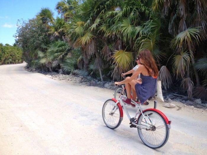 Mexico Tulum Riviera Maya Nature NatureReserve Cycling Travel Holiday Adventure Cruising