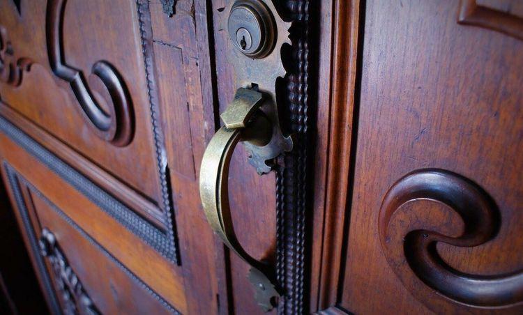 Wood - Material Door