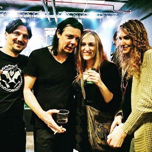 One with Steve Hewitt from Love Amongst Ruin and Best  Placebo Drummer 😁😍 Zagreb, Croatia Vintage Industrial Bar Concert Photography Having Fun :) Concert Happy EyeEm Gallery Hanging Out GoodTimes Love