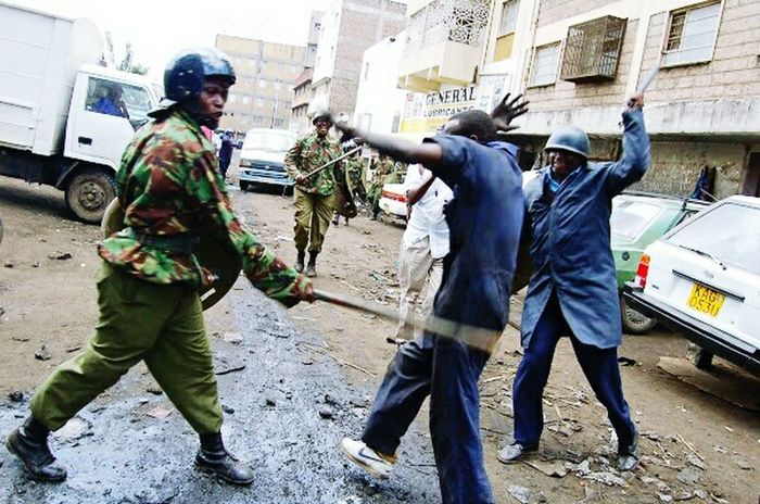 Riot police beating up a protector. Police At Work Police Brutality Protestor Riot Police Beat Beaten Up Inhuman Victimofthesystem