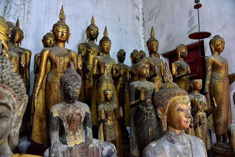 Religion Statue Human Representation Spirituality Sculpture Place Of Worship Gold Colored Travel Destinations No People Idol Indoors  Day