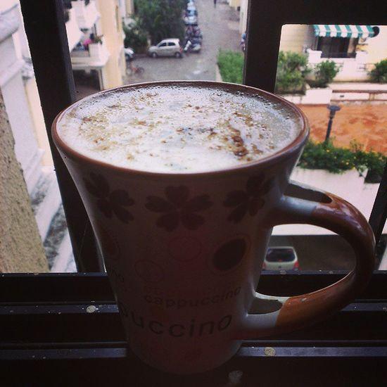 Instapic Instacoffee Cappuccino Raining Perfect Climate HTCOneX +