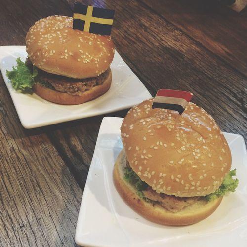 Hamburger Thailand Bangkok Thailand. First Eyeem Photo