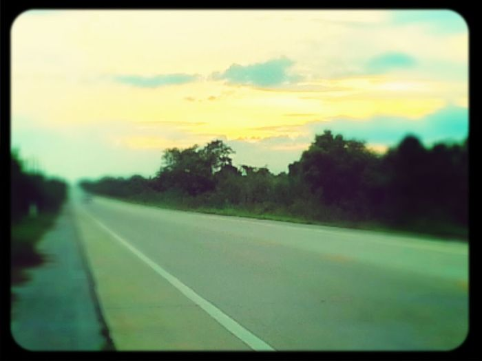 on the way to go home...