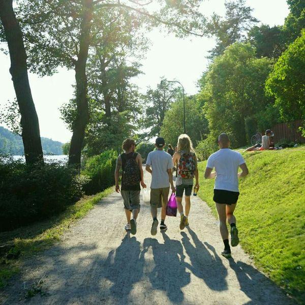 Three Amigos Shadows & Lights Running Jogging Fitness The Human Condition Södermalm Stockholm Stockholm