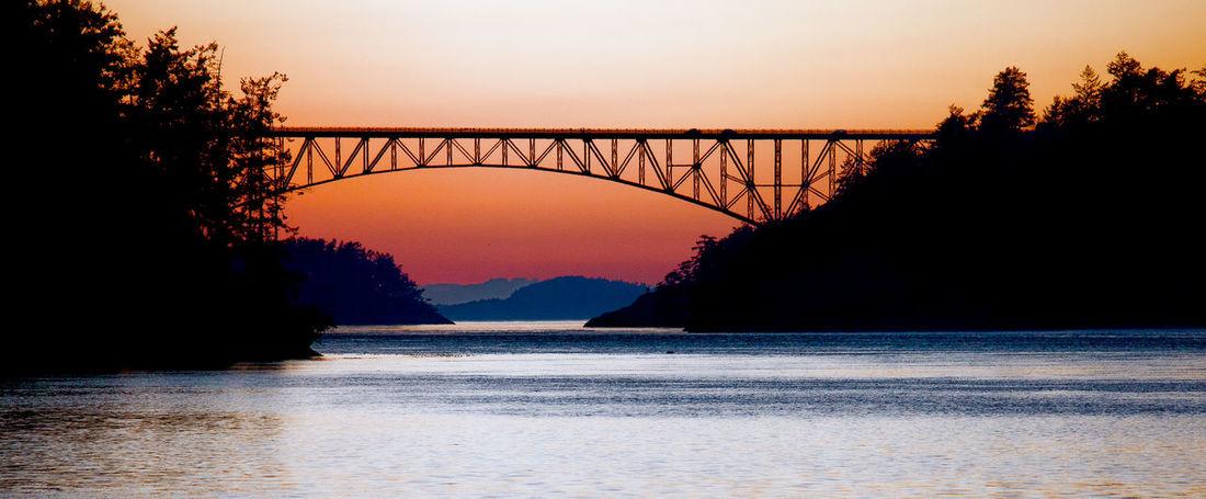 Architecture Bridge Deception Pass Deception Pass Bridge Puget Sound Sunset First Eyeem Photo