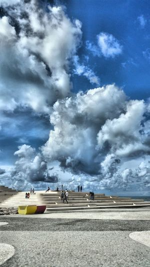 Cloudy Tourism Cloudscape Cloud Blue Cloud - Sky Travel Sky Journey Scenics Cumulus Cloud Day Durres Clouds Albania Nature Sunnyday Aroundtheworld Hdrphotography Bluesky Seaview Travels Pictureoftheday Hello World