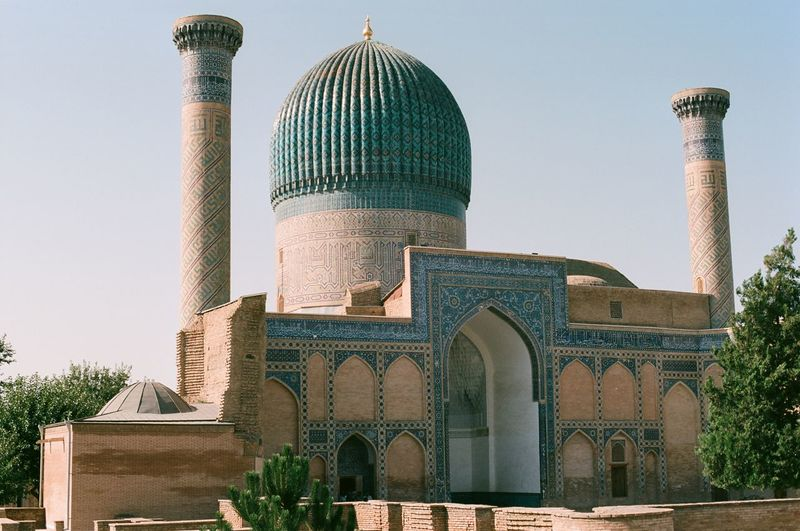 Analogue Film Travel Uzbekistan Fresh On Market 2017
