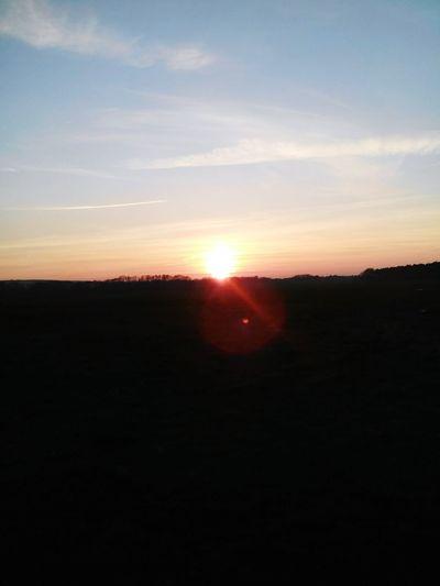 Sun Goes Down Nature Photography Hannah CSI Marie Pretty♡ Love To Take Photos ❤ Nature Sky