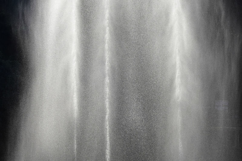 Abstract Abstract Backgrounds Alloy Backgrounds Close-up Curtain Day Full Frame Gray Metal Nature No People Outdoors Pattern Reflection Shiny Silver Colored Textile Textured  Textured Effect Water