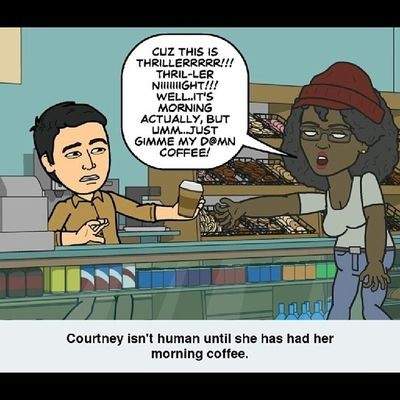 Coffee makes it all better... Coffee Fridayeve Bitsrips Bitstrip